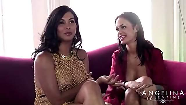 Angelina Valentine will obey her mistress' kinky wishes