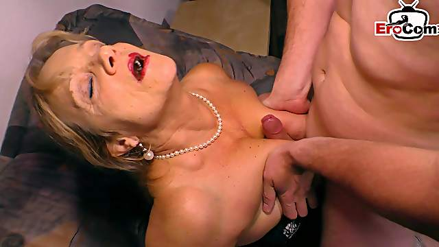 German big boobs blonde mature milf fuck