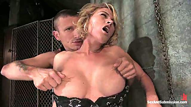 Krissy Lynn gets tied up and pounded hard by Mr. Pete