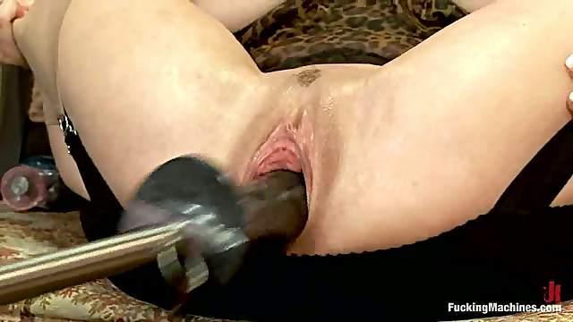Wonderful brunette siren Veronica Avluv uses some devices
