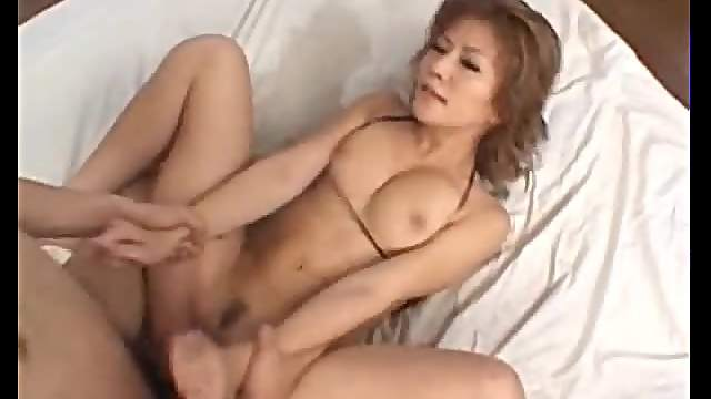 Japanese squirter fucked and she takes facial