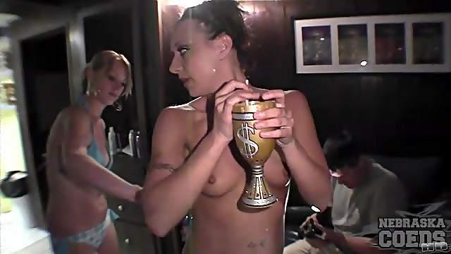 College girls look great in bikinis
