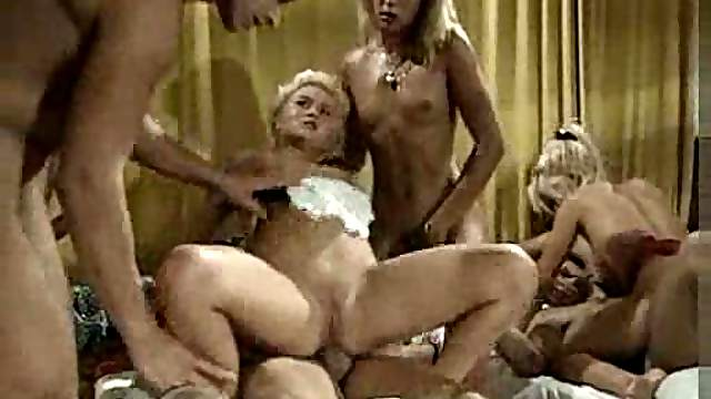 Big orgy party with German girls