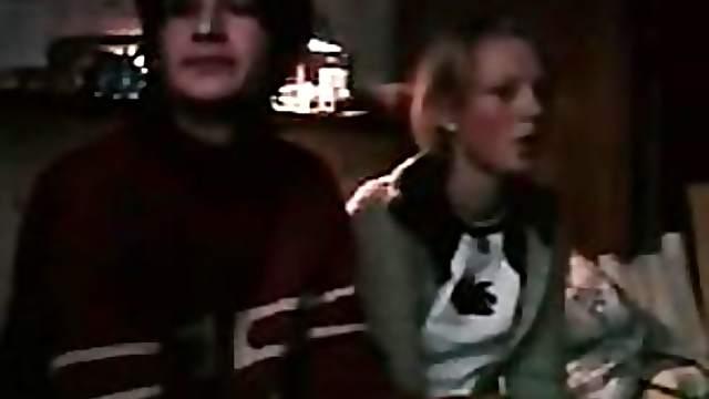 Cute Blonde Teen Giving Super Hot Blowjob Caught By Hidden Spy Cam
