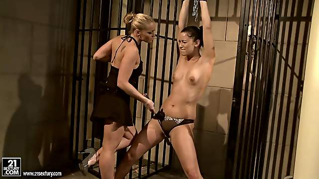 Barbie Pink gets punished  for being fucking horny