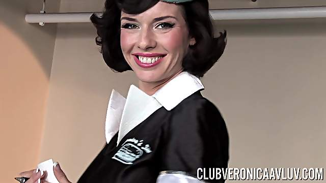Cosplay with Veronica Avluv who thrives in toying her coochie