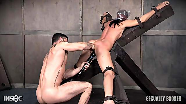 Serious sex machine and games are favorite things for India Summer