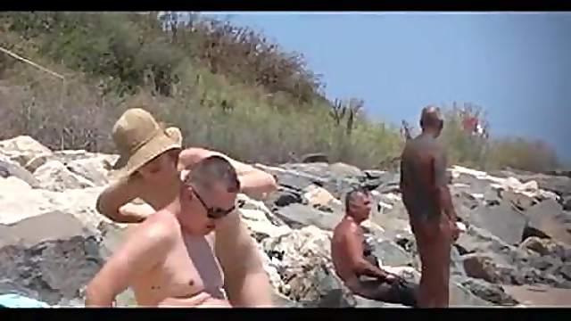 Romanian nudist beach