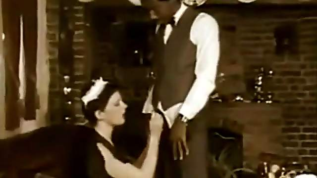 Hot Black Driver Fucks Young German Maid In Living Room