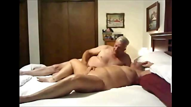 Mature bisexual trio homemade