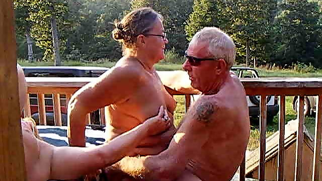 Old swingers ranch party