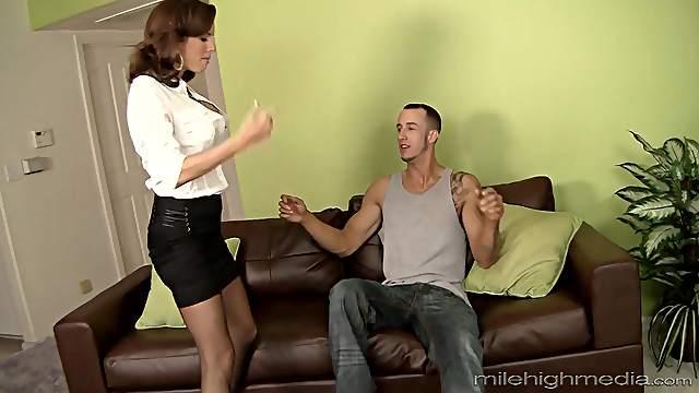 Brunette Veronica Avluv knows how to satisfy a stiff shaft