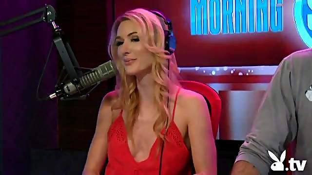 Steve O and sexy ladies on Playboy radio