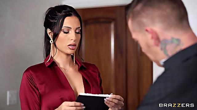 Hot girl Azul Hermosa delves into an erotic sexual foray