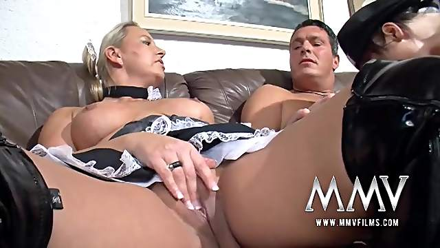 Milf French maid needs that hard dick